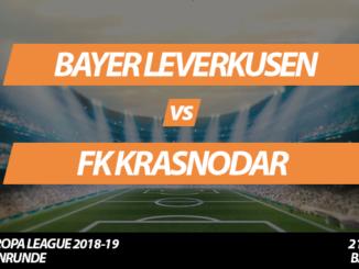 Europa League Tickets: Bayer Leverkusen - FK Krasnodar, 21.02.2019 (Zwischenrunde)
