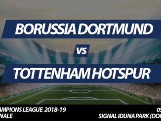 Champions League Tickets: Borussia Dortmund - Tottenham Hotspur, 05.03.2018 (Achtelfinale)