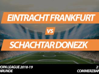 Europa League Tickets: Eintracht Frankfurt - Schachtar Donezk, 21.02.2019 (Zwischenrunde)