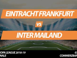 Europa League Tickets: Eintracht Frankfurt - Inter Mailand, 7.3.2019