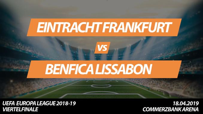 Europa League Tickets: Eintracht Frankfurt - Benfica Lissabon, 18.4.2019