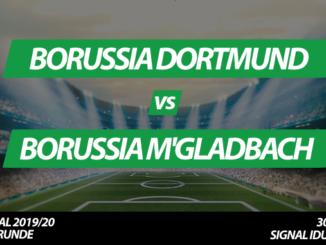DFB-Pokal Tickets: Borussia Dortmund - Borussia Mönchengladbach, 30.10.2019
