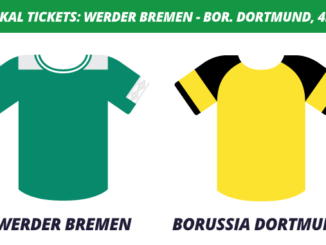 DFB-Pokal Tickets: Werder Bremen - Borussia Dortmund, 4.2.2020 (Achtelfinale)